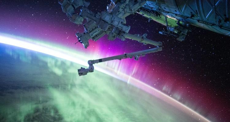 Kosmos widziany z satelity - zdjęcie NASA