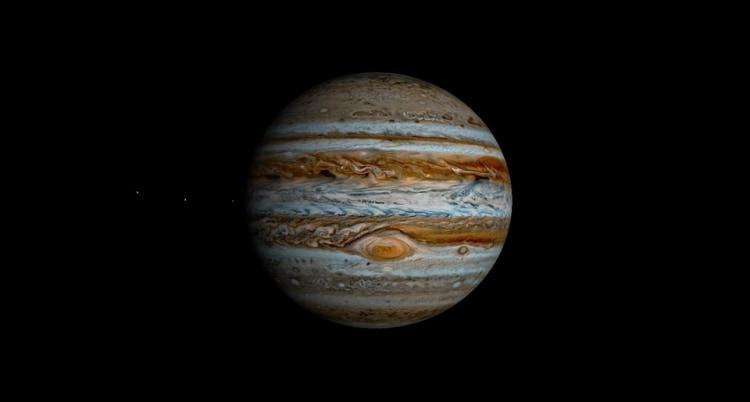 Jowisz - piąta planeta od słońca