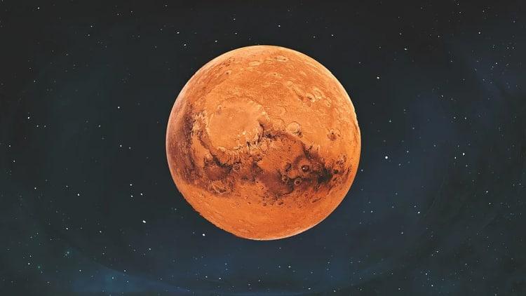 Mars - czwarta planeta od słońca