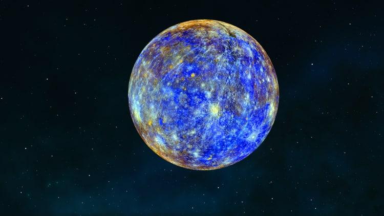Merkury - pierwsza planeta od słońca