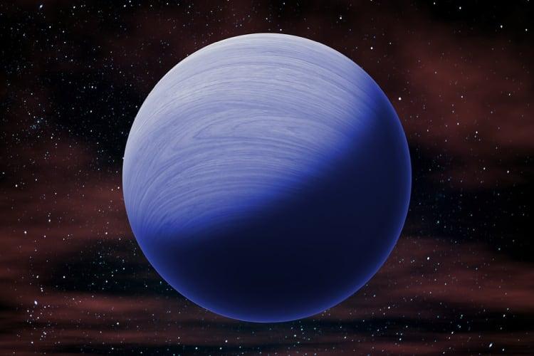 Neptun - ósma planeta od słońca