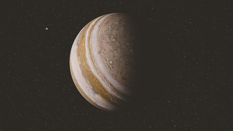 Saturn - szósta planeta od słońca