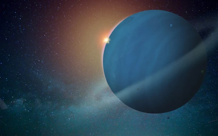 Uran - siódma planeta od słońca